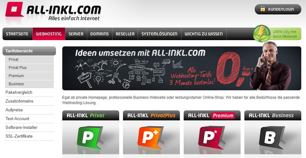 All Inkl Screenshot